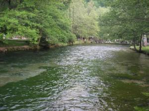 Springs of Bosnia river