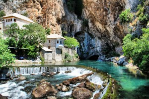 Blagaj - Spring of Buna river